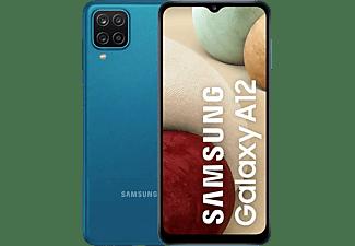 """Móvil - Samsung Galaxy A12 (2021), Azul, 32 GB, 3 GB RAM, 6.5"""" HD+, QuadCam, Exynos 850, 5000 mAh, Android 11"""