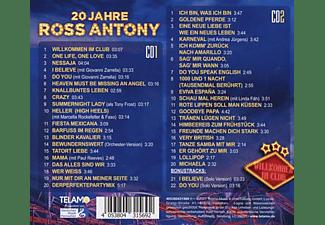 Ross Antony - Willkommen im Club-20 Jahre  - (CD)