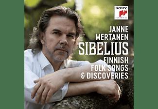 Janne Mertanen - Sibelius - Finnish Folk Songs & Discoveries [CD]