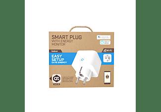 Enchufe inteligente - muvit iO MIOSMP008, Wi-Fi, 3500 W, Asistente de Google, Alexa, Blanco