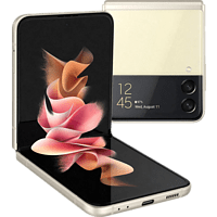 SAMSUNG Galaxy Z Flip3 5G 128 GB Phantom Cream Dual SIM