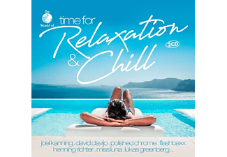 VARIOUS - Time For Relaxation & Chill [CD]