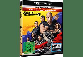 Fast & Furious 9 [4K Ultra HD Blu-ray + Blu-ray]