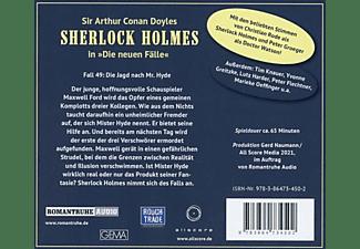 Holmes Sherlock - Die Jagd Nach Mr. Hyde (Neue Fälle 49)  - (CD)
