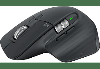 LOGITECH Maus MX Master 3 Advanced für MAC, Space Grey, USB/Bluetooth (910-005696)