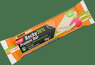 Barrita de proteínas -NamedSport Rocky 36%, 50g, Sabor cheesecake