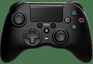 Mando - Hori Onyx Plus, PS4 PC, Diseño asimétrico, Inalámbrico, Negro