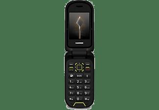 "Móvil - Hammer BOW+, 2.4"" QVGA, Certificado IP68, Dual SIM, 64MB, 2 MP, 1200 mAh, Bluetooth, Negro"