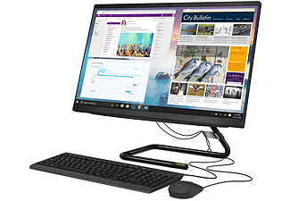 "All in one - Lenovo IdeaCentre AIO 3 24ARE05, 23.8"" FHD, AMD Ryzen™ 5 4500U, 8 GB RAM, 512 GB SSD, Radeon, W10"