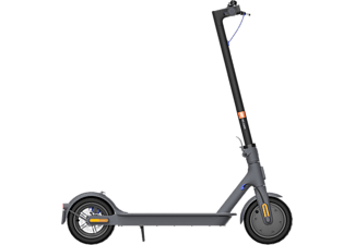 Patinete eléctrico - Xiaomi Mi Electric Scooter 3, 100 kg, 7650mAh, Vel. 25km/h, 30 km, Bluetooth, Negro