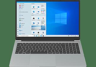 PEAQ Classic C170-2G428D, Notebook mit 17,3 Zoll Display, Intel® Pentium® Prozessor, 4 GB RAM, 128 GB SSD, Intel® UHD-Grafik 605, Grau