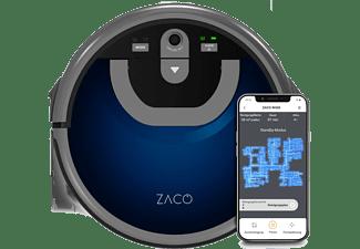 ZACO W450 Nass-Saugroboter mit 2 seperate Wassertanks (App-Steuerbar)