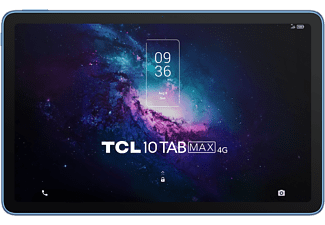 """Tablet - TCL 10 TAB MAX 4G, Azul, 10.36"""" FHD+, 4 GB RAM, 64 GB, MT8788A, Android 10"""