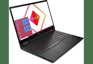 HP OMEN 15-ek0357ng, Notebook mit 15,6 Zoll Display, Intel® Core™ i5 Prozessor, 8 GB RAM, 512 GB SSD, GeForce RTX™ 2070 Max-Q, Schwarz