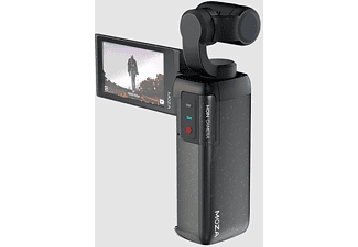 MOZA Gimbal MOIN Kamera, 12MP, 4K60p, 120° FOV, 2.45 Zoll Touch Display, Schwarz