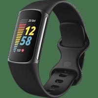 FITBIT Fitnesstracker Charge 5, Schwarz/Graphit
