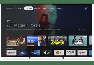 SONY XR-55A90J OLED TV (Flat, 55 Zoll / 139 cm, OLED 4K, SMART TV, Google TV)
