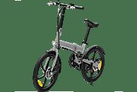 Bicicleta eléctrica - SmartGyro Ebike Crosscity, 250W, 25 km/h, Plegable, Plata