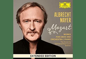Albrecht/deutsche Kammerphilharmonie Bremen Mayer - Mozart: Works for Oboe and Orchestra / Piano  - (CD)