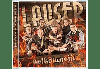Die Lauser - Volksmusik [CD]