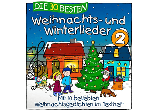 Sommerland,S./Glück,K.& Kita-Frösche,Die - Die 30 Besten Weihnachts-Und Winterlieder 2 [CD]