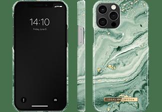 IDEAL OF SWEDEN Fashion Case für Apple iPhone 12/12 Pro, Mint Swirl Marble