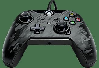 PDP LLC Gaming Wired Controller für PC, Xbox One, Xbox Series X Camoschwarz/-grau