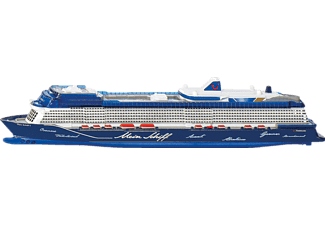 SIKU 1730 Mein Schiff 1 Spielzeugmodellfahrzeug, Mehrfarbig