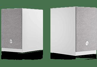 Altavoz estéreo - Audio Pro A26, Set de 2 Altavoces, 2x 75 W, HDMI ARC, Wi-Fi, AUX 3.5 mm, Bluetooth, Blanco