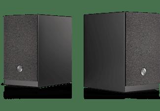 Altavoz estéreo - Audio Pro A26, Set de 2 Altavoces, 2x 75 W, HDMI ARC, Wi-Fi, AUX 3.5 mm, Bluetooth, Negro