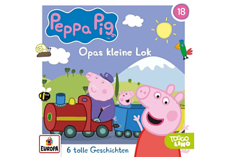 Peppa Pig Hörspiele - Folge 18: Opas kleine Lok  - (CD)