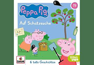 Peppa Pig Hörspiele - Folge 19: Schatzsuche  - (CD)