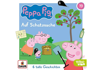 Peppa Pig Hörspiele - Folge 19: Schatzsuche [CD]