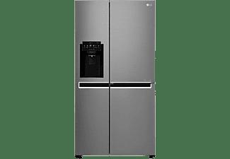 Frigorífico americano - LG GSJ760PZXV, 422 l, No Frost, 179 cm, Dispensador de agua, Inox