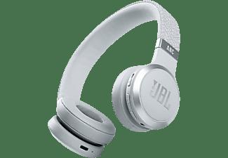 Auriculares inalámbricos - JBL Live 460 NC, De diadema, Bluetooth 5.0, USB, 50 h, Conexión multipunto, Blanco