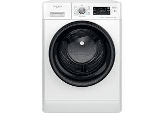 Lavadora carga frontal - Whirlpool FFB 9458 BV SP, 9 kg, 1400 rpm, 6th Sense, 13 programas, 60 cm, Blanco