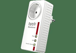 Adaptador PLC – AVM Fritz! Powerline 1220E WLAN, 1 unidad, 1200mbps, 2 puertos LAN Gigabit, IPv6, Blanco