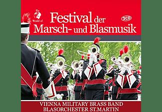 Vienna Military Brass Band-Blasorchester St.Martin - Festival der Marsch-und Blasmusik [CD]