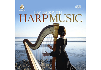 VARIOUS - Lay Back With Harp Music [CD]