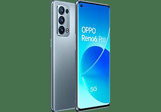 "Móvil - OPPO Reno6 Pro 5G, Lunar Grey, 256 GB, 12 GB RAM, 6.55"" FHD+, Qualcomm 870, 4500 mAh, Android 11"