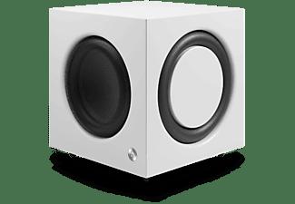Subwoofer - Audio Pro SW-10, 200 W, Clase Digital D, Bass-Reflex, RCA, Blanco