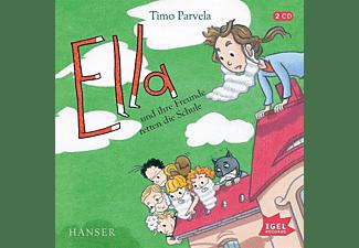 Timo Parvela - Ella und ihre Freunde retten die Schule  - (CD)