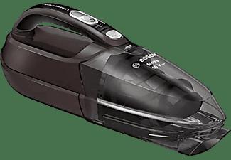 Aspirador de mano - Bosch BHN16L, Sin bolsa, 16 V, Ciclónico, 0.3 l, 2 Velocidades, 40 min, Negro