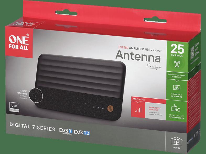 ONE FOR ALL SV9482 (5G) DVB-T2 Zimmerantenne