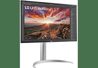 LG ELECTRONICS Monitor 27UP850-W, 27 Zoll, UHD 4K, 60Hz, 5ms, IPS, 400cd, 95% DCI-P3, DisplayHDR 400, Mattschwarz