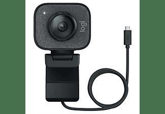 LOGITECH Webcam Streamcam, schwarz, FHD, 60fps, IR-Sensor, AF (960-001281)