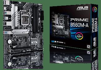 ASUS Mainboard Prime B560M-A, mATX, 2x M.2, USB 3.2 Gen 2 Typ-C, Intel 1Gbit/s, PCIe 4.0, Aura Sync