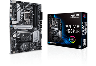 ASUS Mainboard Prime H570-Plus, ATX, 2x M.2, Intel 1Gbit/s, USB 3.2 Gen 2, Tb 4, PCIe 4.0, Aura Sync