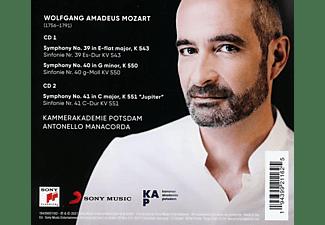 Kammerakademie Potsdam - Sinfonien 39,40,41 [CD]