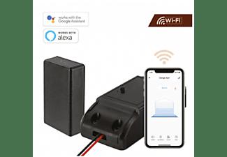 Dispositivo apertura de puertas - Muvit iO MIOGDOP001, De parking, Wi-Fi, Asistentes de Voz, Negro